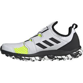 adidas TERREX Agravic Boa Trail Running Shoes Men non-dyed/core black/solar yellow